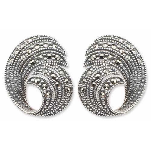 marcasite earring HE0082 1