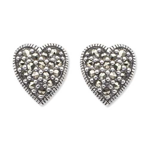 marcasite earring HE0083 1