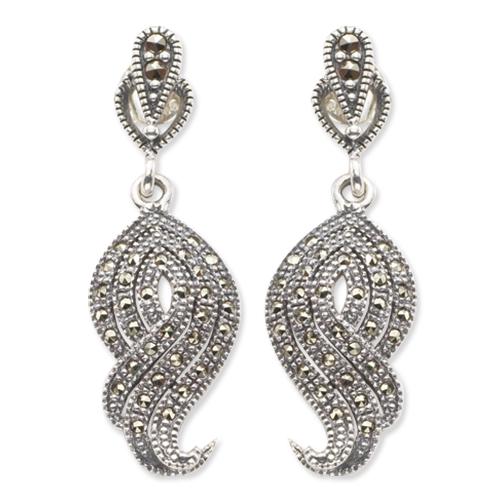 marcasite earring HE0091 1