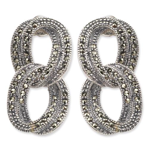 marcasite earring HE0127 1