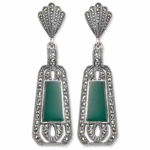 marcasite earring HE0141 1