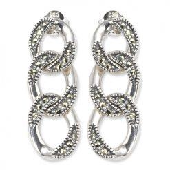 marcasite earring HE0146 1