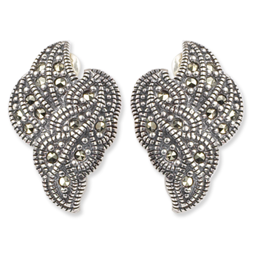 marcasite earring HE0162 1