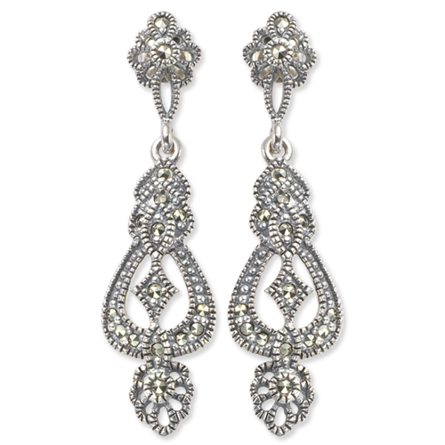 marcasite earring HE0168 1