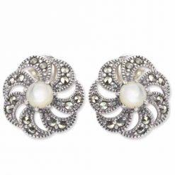 marcasite earring HE0174 1