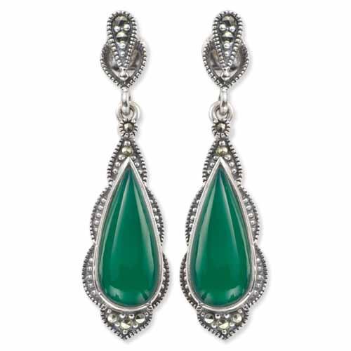 marcasite earring HE0175 1