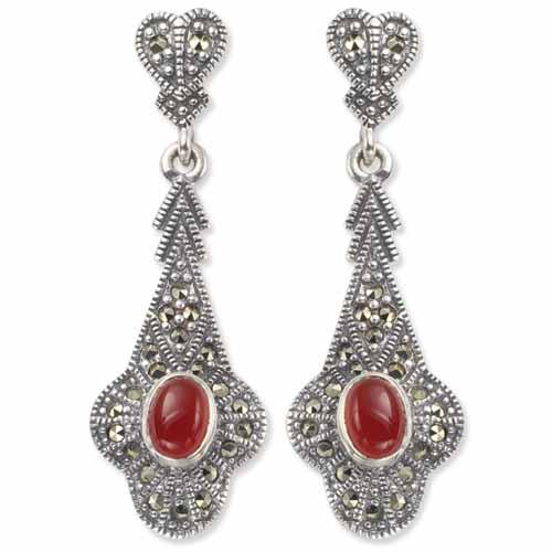 marcasite earring HE0178 1