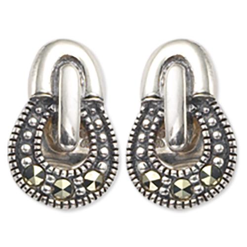 marcasite earring HE0181 1
