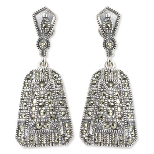 marcasite earring HE0188 1