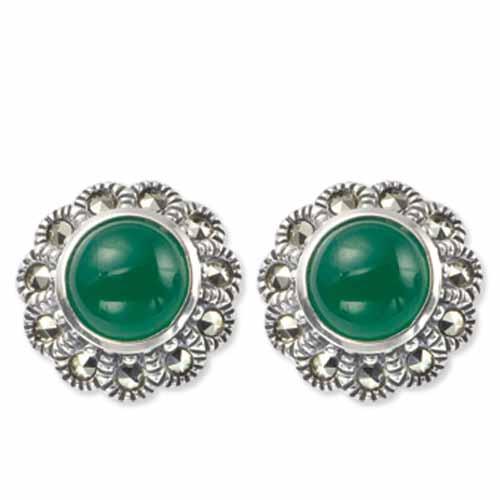 marcasite earring HE0206 1
