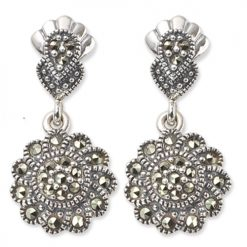 marcasite earring HE0207 1