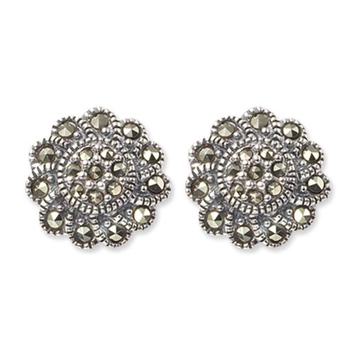 marcasite earring HE0208 1