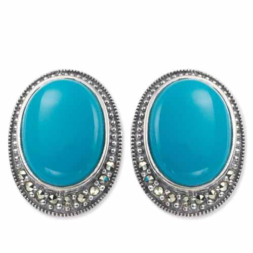 marcasite earring HE0212 1