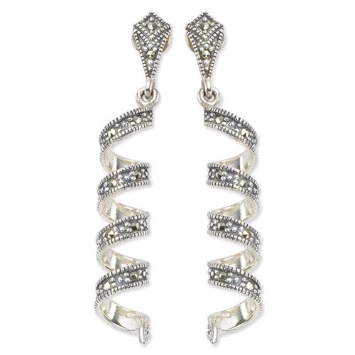 marcasite earring HE0221 1