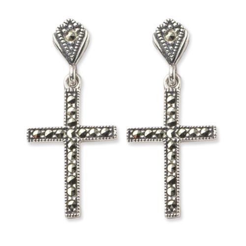 marcasite earring HE0239 1
