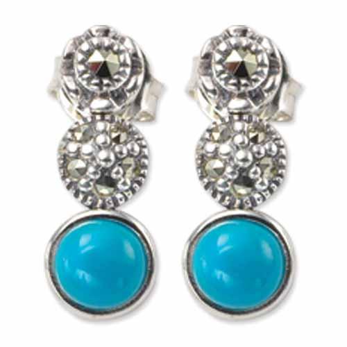 marcasite earring HE0240 1