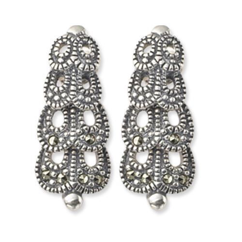 marcasite earring HE0245 1