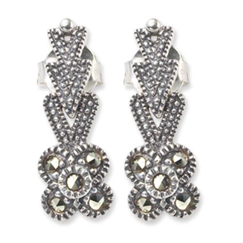 marcasite earring HE0246 1