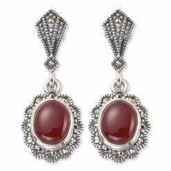 marcasite earring HE0251 1