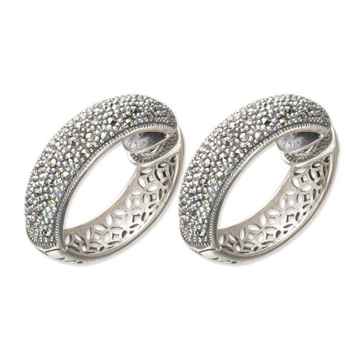 marcasite earring HE0252 1
