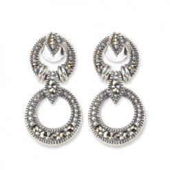 marcasite earring HE0256 1