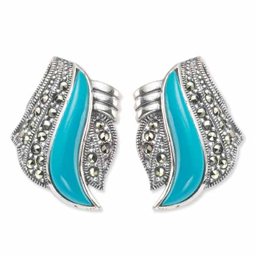 marcasite earring HE0260 1