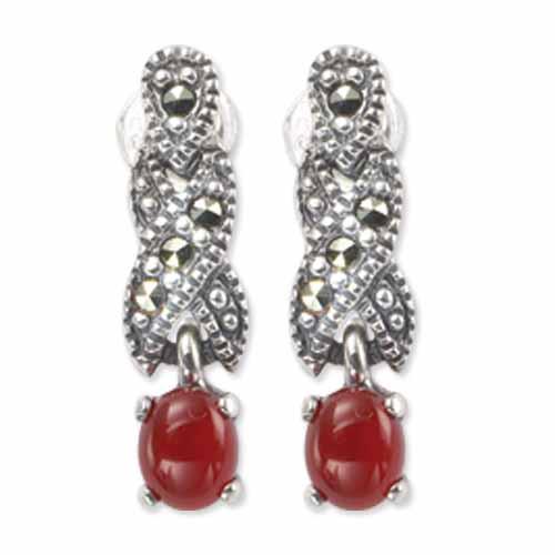 marcasite earring HE0271 1