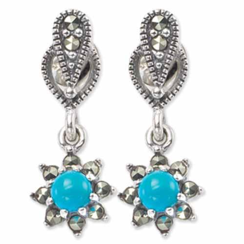 marcasite earring HE0274 1