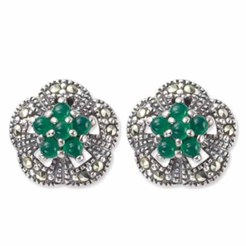 marcasite earring HE0281 1