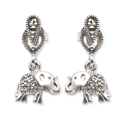 marcasite earring HE0287 1