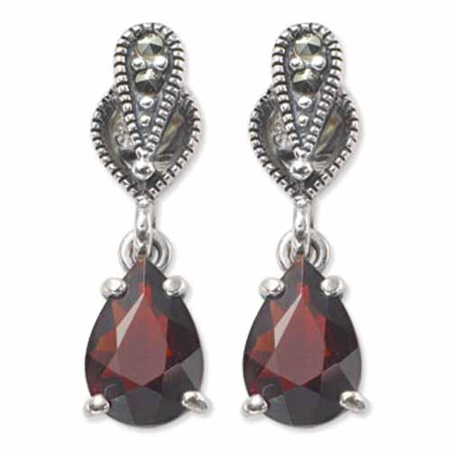 marcasite earring HE0291 1