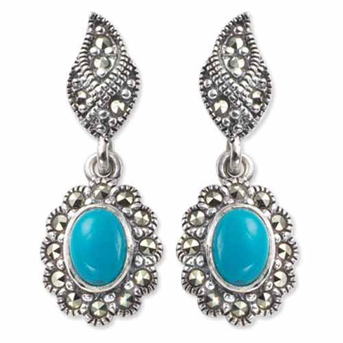 marcasite earring HE0293 1