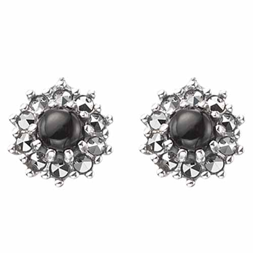 marcasite earring HE0298 1