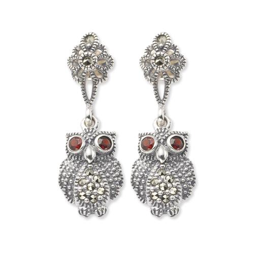 marcasite earring HE0305 1