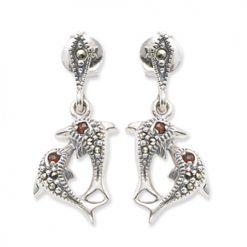 marcasite earring HE0311 1