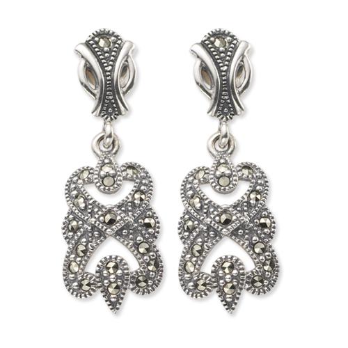 marcasite earring HE0312 1