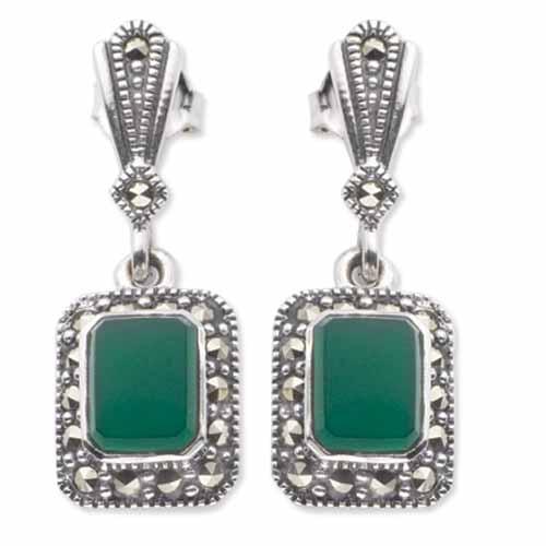 marcasite earring HE0329 1