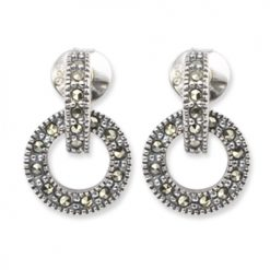 marcasite earring HE0334 1
