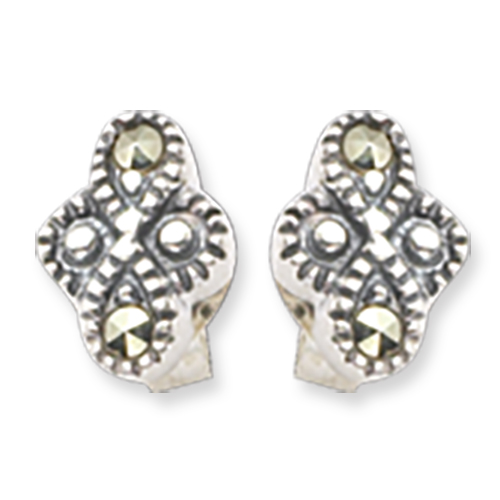 marcasite earring HE0341 1