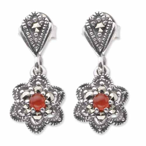 marcasite earring HE0342 1