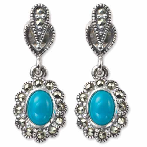 marcasite earring HE0343 1