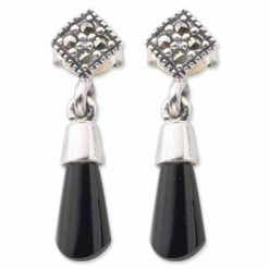 marcasite earring HE0345 1