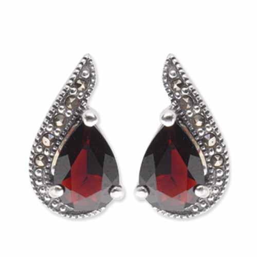 marcasite earring HE0349 1