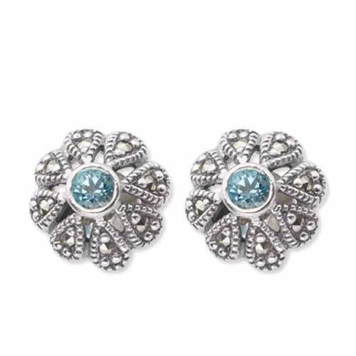 marcasite earring HE0351 1