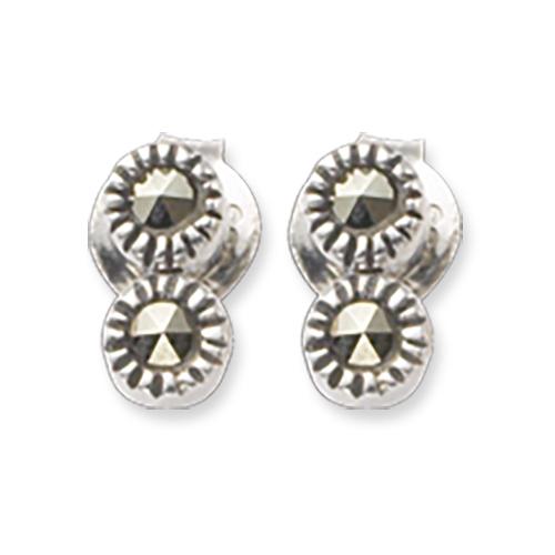 marcasite earring HE0361 2L 1