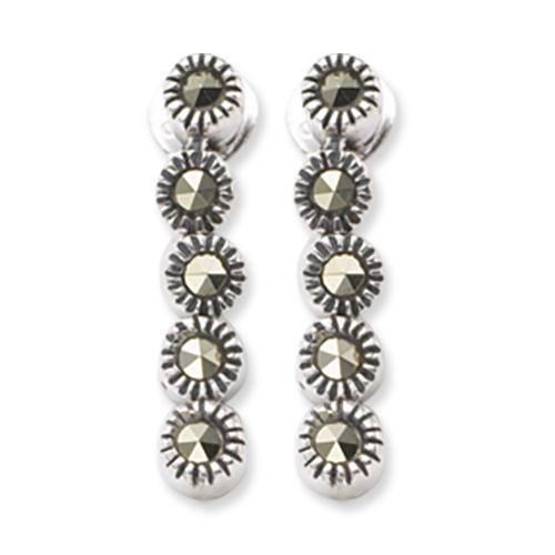 marcasite earring HE0361 5L 1