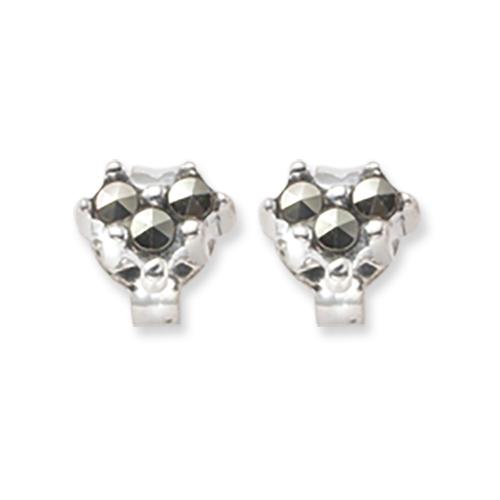 marcasite earring HE0363 1L 1