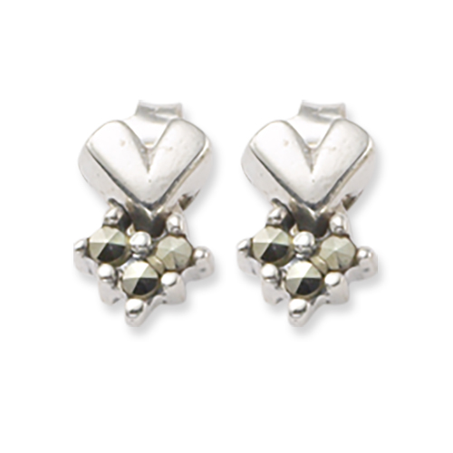 marcasite earring HE0364 1