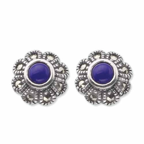 marcasite earring HE0372 1