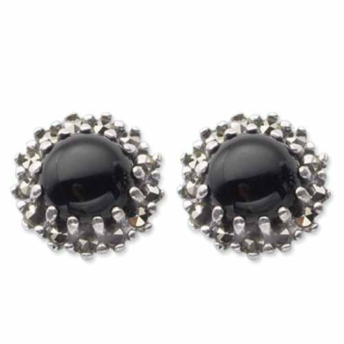 marcasite earring HE0383 1